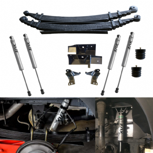 VAN COMPASS STAGE 3 - Dual Rear  Axle SUSPENSION PACKAGE - SPRINTER 4X4 (2007-CURRENT)